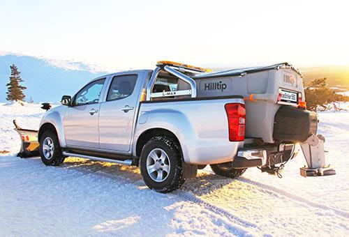 IceStriker spreader for pickup