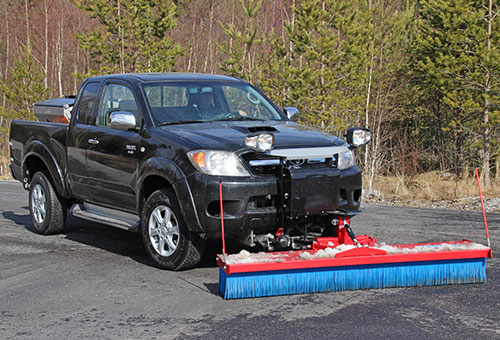 SweepAway push broom