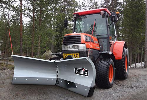 SnowStriker v-plow for tractors