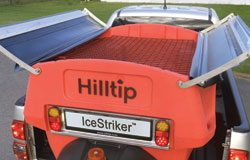 IceStriker spreader tarp mechanism
