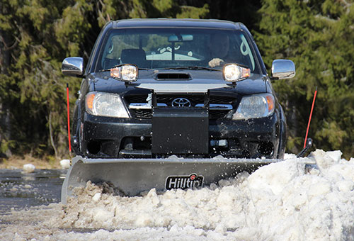 SnowStriker plow for pickup