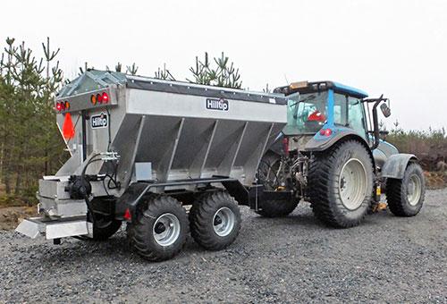 Truck spreader