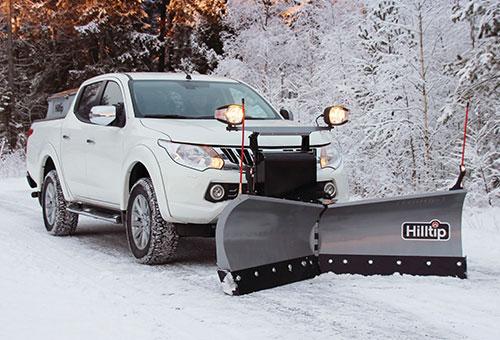 SnowStriker v-plow for pickup