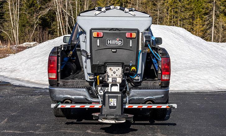 Hilltip IceStriker Combi Spreaders, Salt spreaders