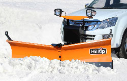 SnowStriker orange snowplow