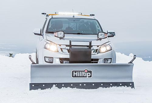 SnowStriker straight snowplough