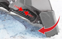 SnowStriker plow cutting edge