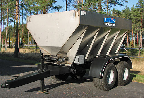 Truck salt spreader