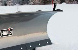 SnowStriker curved plow blade