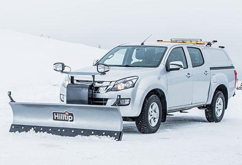 SnowStriker straight plough