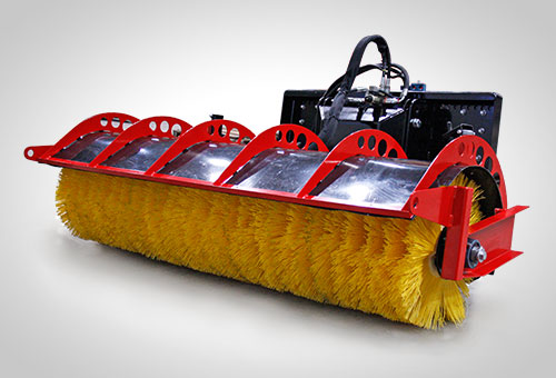 SweepAway rotary broom