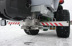 Tractor salt Spreader, Traktor kombispridare, Lautassirotin, Traktor salzstreuer, Tracteur Saleuse, Posypywarka traktorów