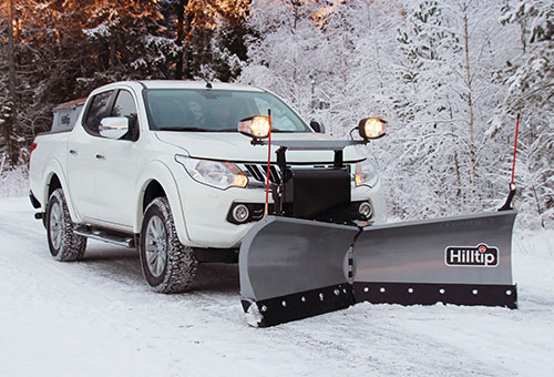 SnowStriker v-plow for pickup
