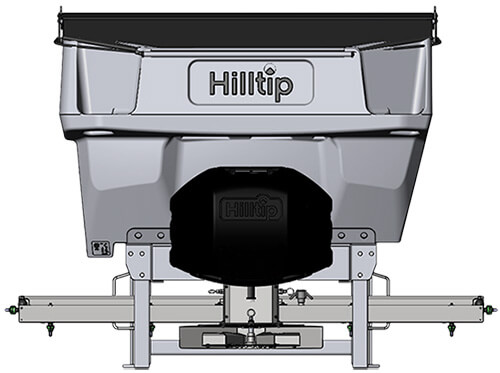 Hilltip IceStriker salt spreader for tractors